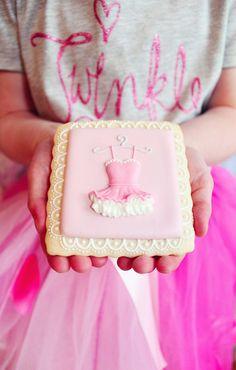 ballerina cookie