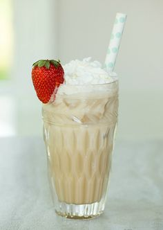 Italian Cream Soda  (½ cup club soda 3 Tbs Torani chocolate syrup 2 Tbs half-and-half and Whipped cream for topping. AMAZING!!! ~Goldberry C