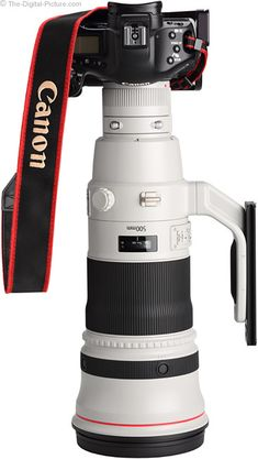 Canon EF 500mm f/4 L IS II Lens with Wimberley Lens Plate