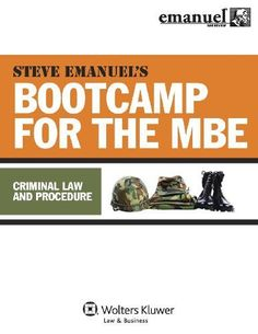 MBE Bootcamp: Criminal Law & Procedure (Emanuel Bar Review)