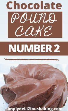 A very tasty chocolate pound cake that's a divine sweet chocolate and not overly rich. A simple and easy homemade recipe that taste amazing. Easy Homemade Recipes, Homemade Cakes, Delicious Recipes, Decadent Chocolate, Chocolate Flavors, Chocolate Recipes, Pound Cakes, Pound Cake Recipes, Chocolate Pound Cake