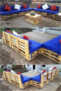 wood pallets patio furniture