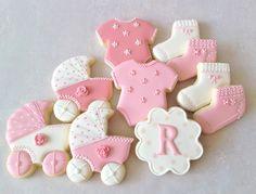 Biscoitos decorados Chá de bebê 4