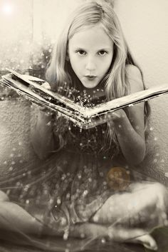 That's the thing with magic. You've got to know it's still here, all around us, or it just stays invisible for you. ~Charles de Lint / fairy tales and magic Believe In Magic, Jolie Photo, I Love Books, Read Books, The Book, Fairy Tales, Fairy Dust, Art Photography, Conceptual Photography