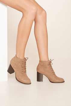 50243801954c3d Faux Suede Ankle Booties Suede Ankle Boots