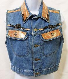 Denim womens jacket xs