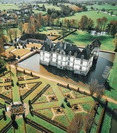 Visiting Château de Cormatin in Burgundy, France