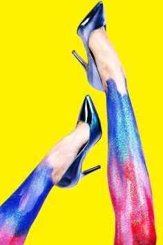 Tamara Hansen - Tamara Hansen captures 'Shoes, Shoes, Shoes,' an expressive image series that spotlights the season's hottest footwear styles. Th...