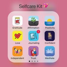 Build 8 Positive Mindsets In One App with the Journey app, your Daily Self-Care Journal. Build 8 Positive Mindsets In One App with the Journey app, your Daily Self-Care Journal. Daily Schedule App, Applis Photo, Schul Survival Kits, Fitness Apps, Journal App, Diy Deodorant, Glow Up Tips, Girl Life Hacks, College Hacks