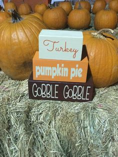 Turkey, Pumpkin Pie, Gobble Gobble