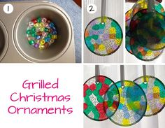 I love to make my own Christmas ornaments. In fact, almost every ornament on our tree is homemade. And I've tried a bunch of new techniques this year, including these awesome melted Christmas…