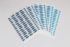 Sacchetti carta kraft bianchi decorati Paper bags Blue shades Confettata Matrimonio Anniversario Food packaging di PickaPack su Etsy