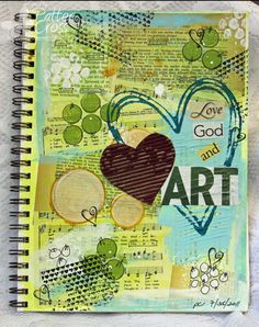 Beginning to get interested in Art Journaling. This website is a good start for me.