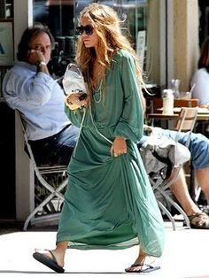 Mary-Kate Olsen boho