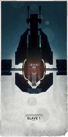 194cm:  Avanaut-Star Wars spaceship posters, July 2013