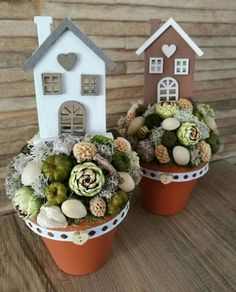 2x4 Crafts, Clay Pot Crafts, Felt Crafts, Easter Crafts, Diy And Crafts, Flower Boxes, Flowers, Deco Floral, Craft Corner