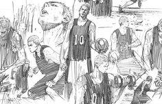 sketch | 桜木花道 Sakuragi Hanamichi | SLAM DUNK スラムダンク | Inoue Takehiko      井上雄彦
