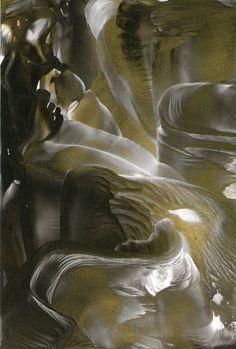 gold silk one of my encaustic art paintings