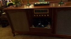 Curtis Mathes 1959 High Fidelity Stereo Model 6029B, Paul Mauriat