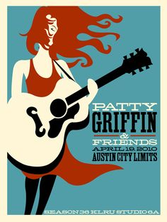 patti griffin gig posters | Steve Martin / Sarah Jarosz by Gary Houston (kind of blurry image)