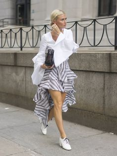 The Spring '17 Trend You Can Buy Now and Wear Through Next Year: Like most fashion girls, we're not exactly patient when it comes to new trends #StreetStyle