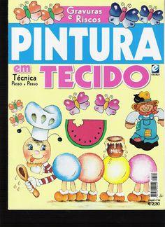 Pintura em Tecido - Edição 6 - Rosita Rosales - Álbumes web de Picasa
