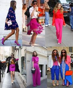 SS 17 fashion trends #Fuschia