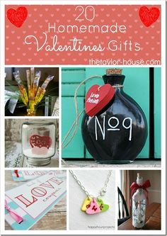 20 Homemade Valentines Day Gift Ideas