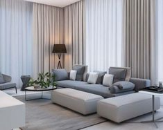 Simple Modern Apartment with Pastel Colors Looks So Cozy modernes Wohnzimmer mit Pastellfarben Classy Living Room, Living Room Modern, Home Living Room, Living Room Designs, Simple Living, Cozy Living, Modern Bedrooms, Apartment Interior, Apartment Living
