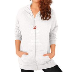 Burn Everything Zip Hoodie (on woman) Shirt