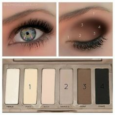 How to Chic: BROWN EYESHADOW SMOKEY EYE - HOW TO