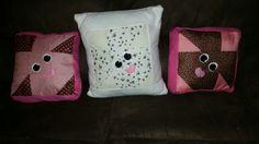 Bunny cushions  Www.facebook.com/handmadebylisaevans
