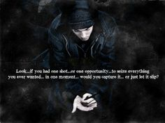 Seize the moment . We are so ready for this day. <3 Eminem