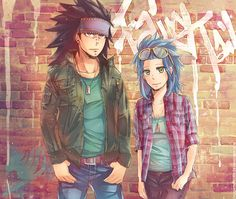 ღ Fairy Tail ღ Gajeel and Levy