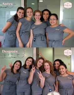 Y aquí tenemos el Antes y el después de nuestra ultima Makeup Party en la Ortodoncia Nakpil-Bueno de Marbella!   By Pretty Day Eventos - Beauty & Make Up Parties - www.prettyday.es
