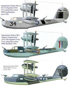 Supermarine Walrus Mk 1
