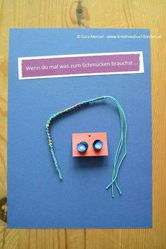 """Wenn-Buch """"wenn du mal etwas zum Schmücken brauchst"""" #Schmuckstück #Ohrringe #Armband #wennbuch"""