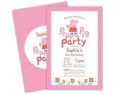 Printable Custom Birthday Party Invitation by CocoEllaDesigns