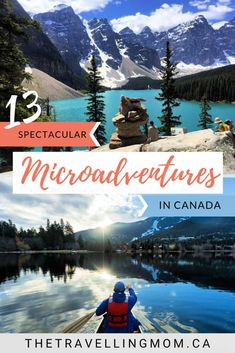 Looking to step up your staycation game for summer travel? From hiking in alpine meadows to fishing and canoeing on pristine lakes, we're sharing how to create an epic travel bucket list with these spectacular microadventures in Canada. Best Summer Vacations, Summer Travel, Travel With Kids, Family Travel, Dream Vacations, Family Vacation Destinations, Amazing Destinations, Travel Destinations, Vacation Ideas