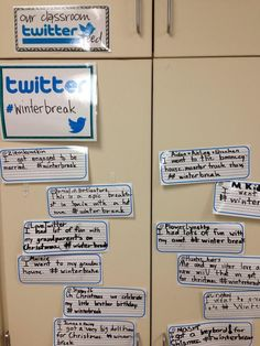Creating a pen and paper Twitter feed as an exit slip for formative assessment.