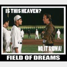 Field of Dreams Field Of Dreams, Ghost Stories, Ghosts, My Books, Heaven, Baseball Cards, Image, Sky, Heavens
