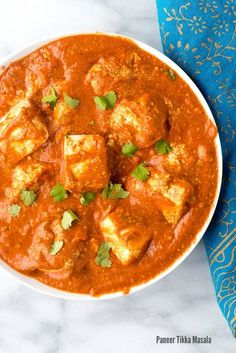 Paneer Tikka Masala recipe. A fresh, spicy Indian vegetarian dish with homemade paneer (cheese). A mouthwatering recipe you'll love! - http://BoulderLocavore.com