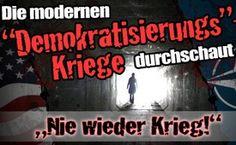"""Die modernen """"Demokratisierungs""""-Kriege ..."""