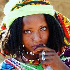 Fulani|Peul sister of #cameroon