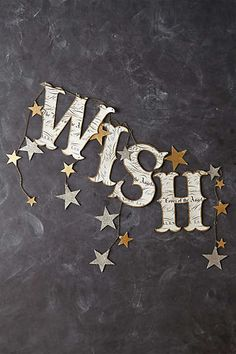 Wish Banner for holiday decorating