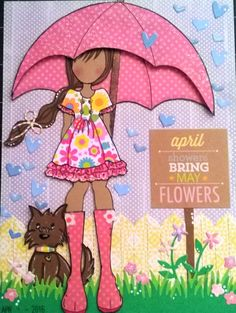 April journal page- Keira doll ♥ By Daniela Marie. Prima Paper Dolls, Paper Doll Craft, Prima Doll Stamps, Vintage Paper Dolls, Doll Crafts, Scrapbook Paper, Scrapbooking, Paper Dolls Printable, Card Tags