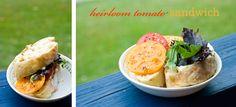 Sweet and Simple: Food & Drink * Heirloom Tomato Sandwich
