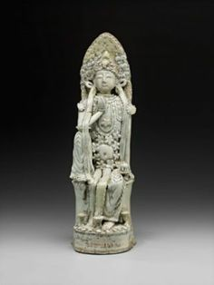 Seated Guanyin figure,Chinese, Northern Song dynasty, 960–1278. COURTESY OF MFA BOSTON. Guanyin, Museum Collection, Centre Pieces, Dali, Buddha, Lion Sculpture, Chinese, Statue, Songs