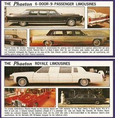 Limousine LineUp by Phaeton Coach Corporation AD
