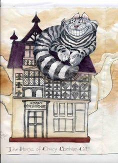 chesire cat, Angel Dominguez